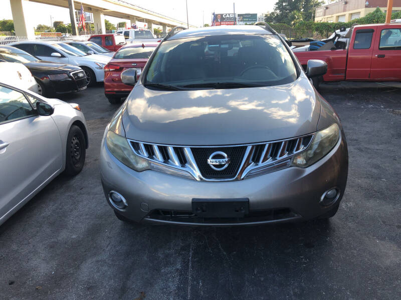 2009 Nissan Murano for sale at Auction Direct Plus in Miami FL