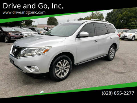 2014 Nissan Pathfinder for sale at Drive and Go, Inc. in Hickory NC