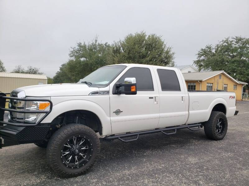 2015 Ford F-350 Super Duty for sale at Rons Auto Sales in Stockdale TX