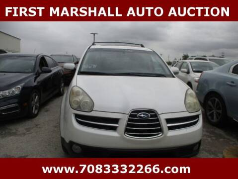 2006 Subaru B9 Tribeca for sale at First Marshall Auto Auction in Harvey IL
