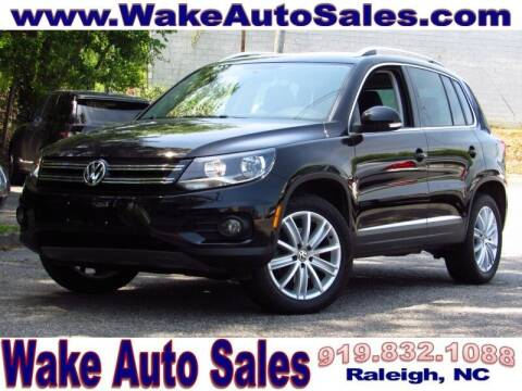 2013 Volkswagen Tiguan for sale at Wake Auto Sales Inc in Raleigh NC