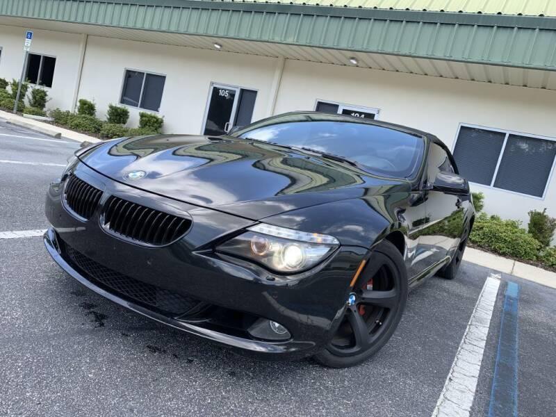 2010 BMW 6 Series for sale at Fisher Motor Group LLC in Bradenton FL