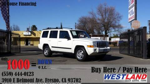 2007 Jeep Commander for sale at Westland Auto Sales in Fresno CA