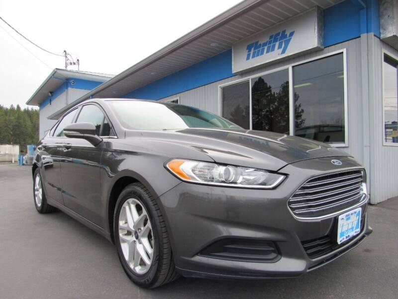 2016 Ford Fusion for sale at Thrifty Car Sales SPOKANE in Spokane Valley WA