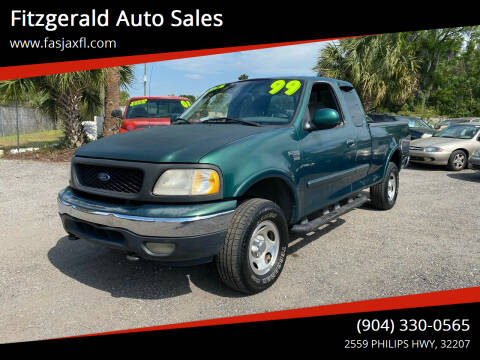1999 Ford F-150 for sale at Fitzgerald Auto Sales in Jacksonville FL