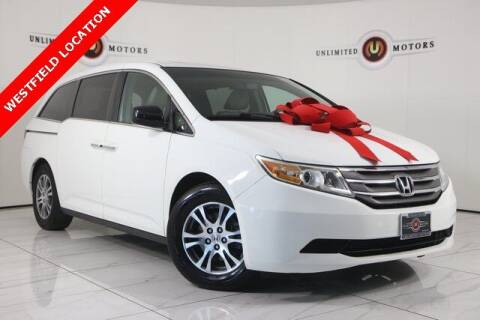 2012 Honda Odyssey for sale at INDY'S UNLIMITED MOTORS - UNLIMITED MOTORS in Westfield IN