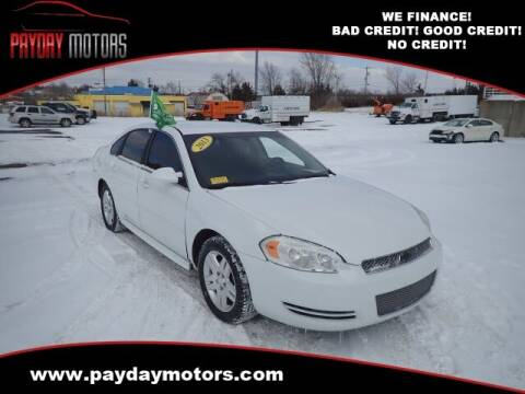 2013 Chevrolet Impala for sale at Payday Motors in Wichita And Topeka KS