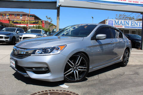 2017 Honda Accord for sale at MIKEY AUTO INC in Hollis NY