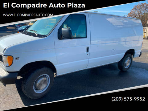 2002 Ford E-Series Cargo for sale at El Compadre Auto Plaza in Modesto CA
