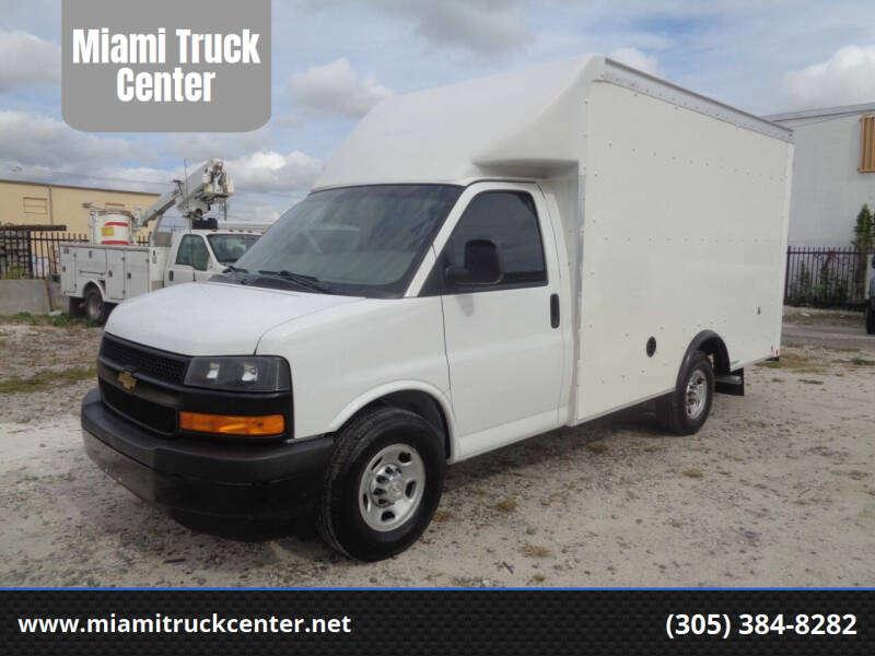 2018 Chevrolet Express Cutaway for sale at Miami Truck Center in Hialeah FL