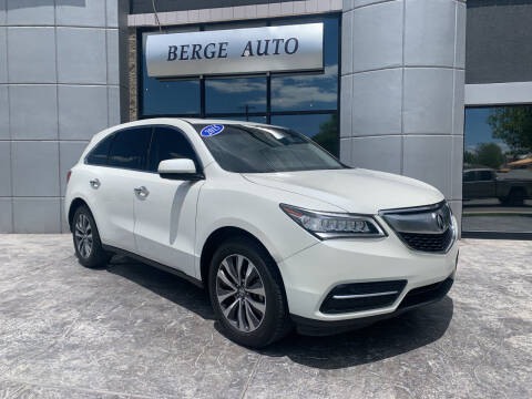 2015 Acura MDX for sale at Berge Auto in Orem UT