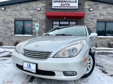 2002 Lexus ES 300 for sale at GREENVILLE AUTO & RV in Greenville WI