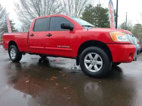 2009 Nissan Titan for sale at Universal Auto Sales in Salem OR