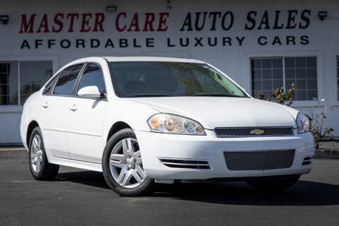 2014 Chevrolet Impala Limited for sale at Mastercare Auto Sales in San Marcos CA