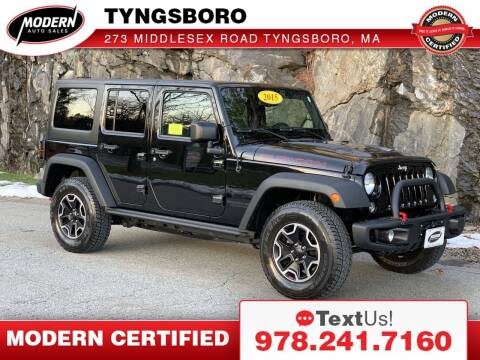 2015 Jeep Wrangler Unlimited for sale at Modern Auto Sales in Tyngsboro MA