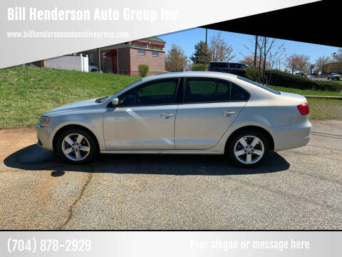 2012 Volkswagen Jetta for sale at Bill Henderson Auto Group Inc in Statesville NC