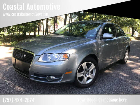 2006 Audi A4 for sale at Coastal Automotive in Virginia Beach VA