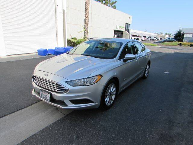 2017 Ford Fusion Hybrid for sale at Pennington's Auto Sales Inc. in Orange CA