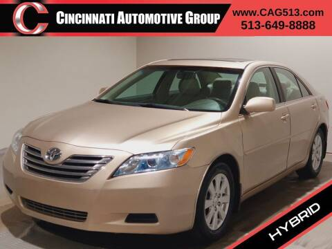 2007 Toyota Camry Hybrid for sale at Cincinnati Automotive Group in Lebanon OH