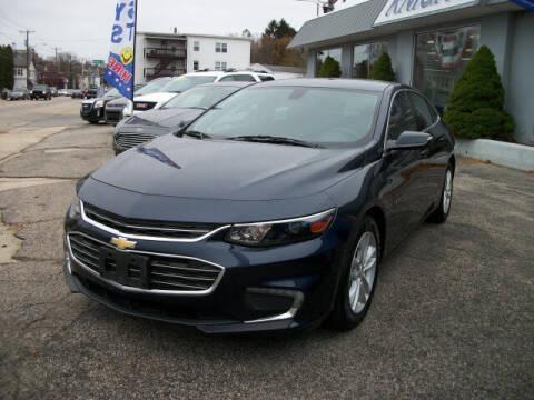 2016 Chevrolet Malibu for sale at Knight Automotive in Southbridge MA