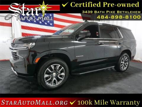 2021 Chevrolet Tahoe for sale at STAR AUTO MALL 512 in Bethlehem PA