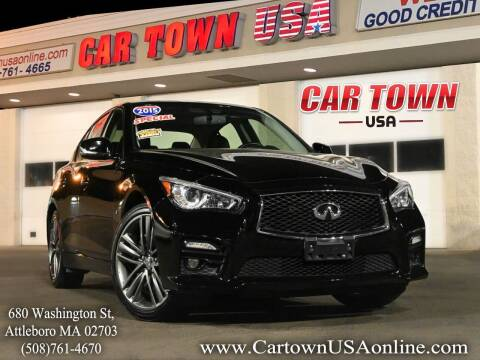 2015 Infiniti Q50 for sale at Car Town USA in Attleboro MA