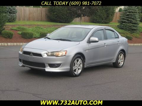 2008 Mitsubishi Lancer for sale at Absolute Auto Solutions in Hamilton NJ