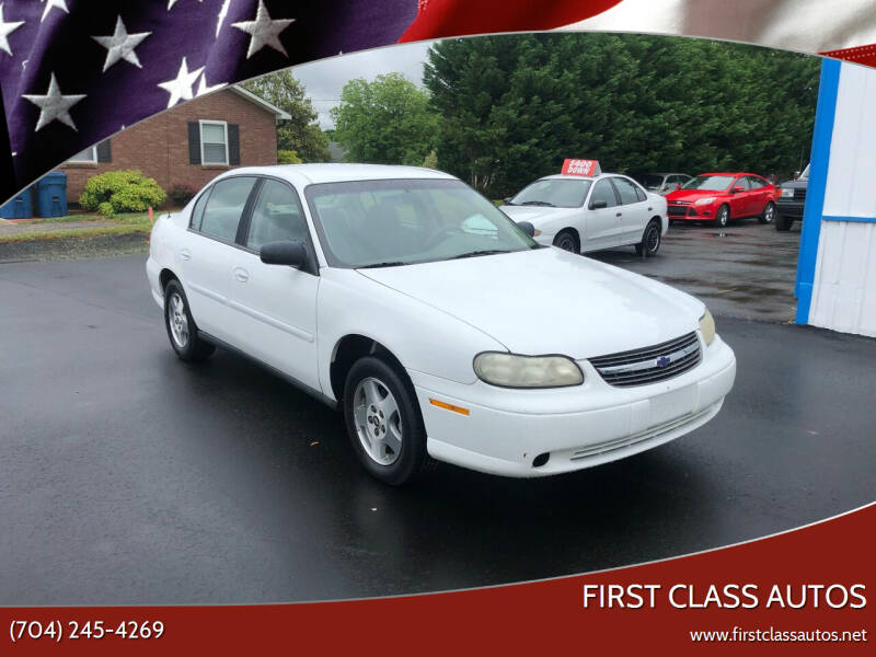 2003 Chevrolet Malibu for sale at First Class Autos in Maiden NC