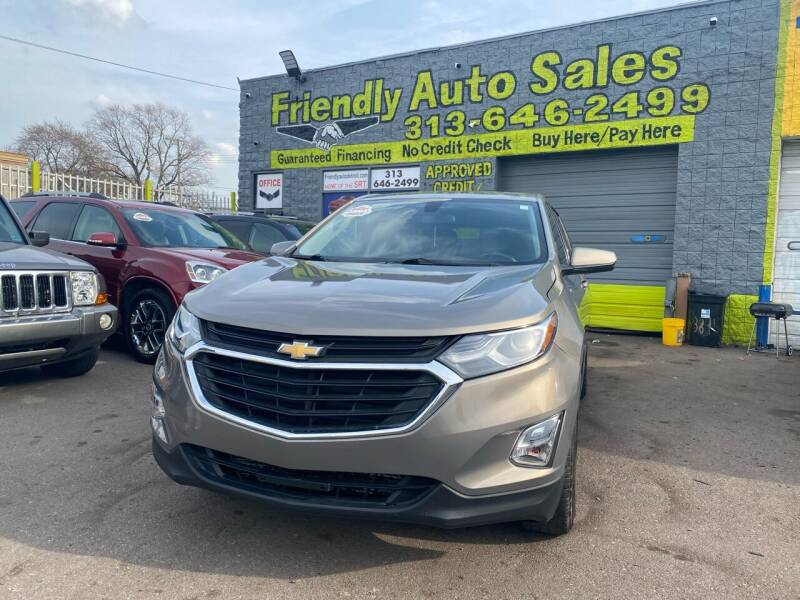 2018 Chevrolet Equinox for sale at Friendly Auto Sales in Detroit MI