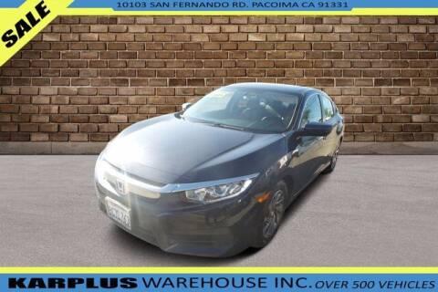 2018 Honda Civic for sale at Karplus Warehouse in Pacoima CA