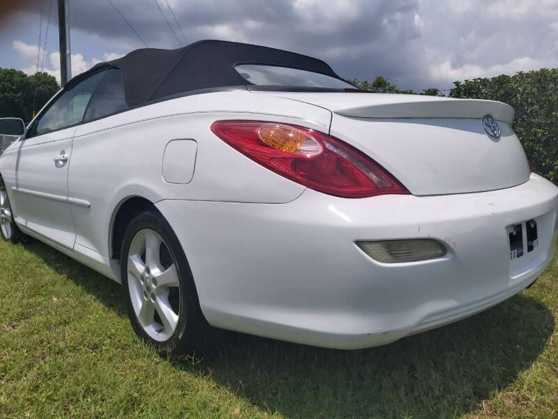 2007 Toyota Camry Solara for sale at Affordable Auto in Ocoee FL