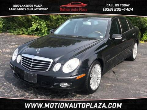 2008 Mercedes-Benz E-Class for sale at Motion Auto Plaza in Lakeside MO