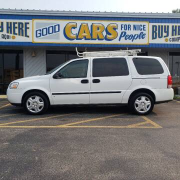 2008 Chevrolet Uplander for sale at Good Cars 4 Nice People in Omaha NE