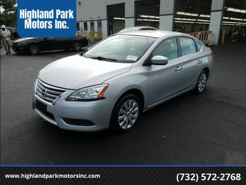 2013 Nissan Sentra for sale at Highland Park Motors Inc. in Highland Park NJ
