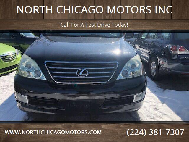 2004 Lexus GX 470 for sale at NORTH CHICAGO MOTORS INC in North Chicago IL