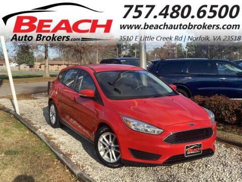 2015 Ford Focus for sale at Beach Auto Brokers in Norfolk VA