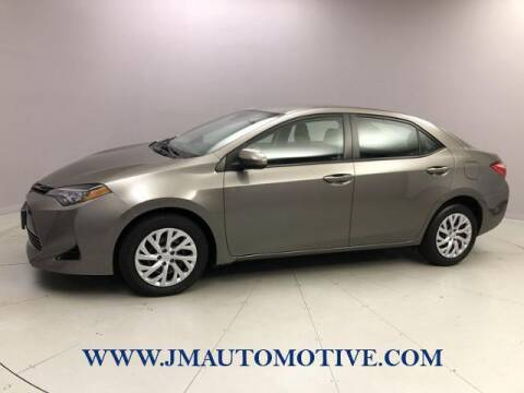 2018 Toyota Corolla for sale at J & M Automotive in Naugatuck CT