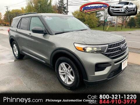 2020 Ford Explorer for sale at Phinney's Automotive Center in Clayton NY