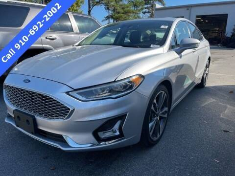 2019 Ford Fusion for sale at PHIL SMITH AUTOMOTIVE GROUP - SOUTHERN PINES GM in Southern Pines NC