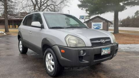 2005 Hyundai Tucson for sale at Shores Auto in Lakeland Shores MN
