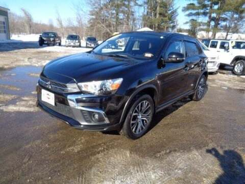 2018 Mitsubishi Outlander Sport for sale at SCHURMAN MOTOR COMPANY in Lancaster NH