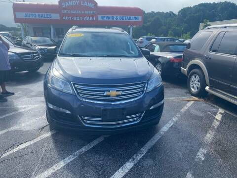 2013 Chevrolet Traverse for sale at Sandy Lane Auto Sales and Repair in Warwick RI