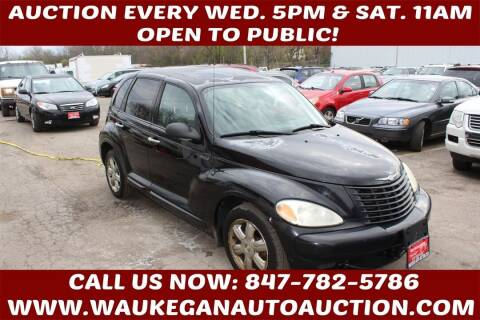 2003 Chrysler PT Cruiser for sale at Waukegan Auto Auction in Waukegan IL