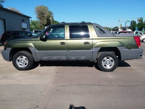 2002 Chevrolet Avalanche for sale at QS Auto Sales in Sioux Falls SD