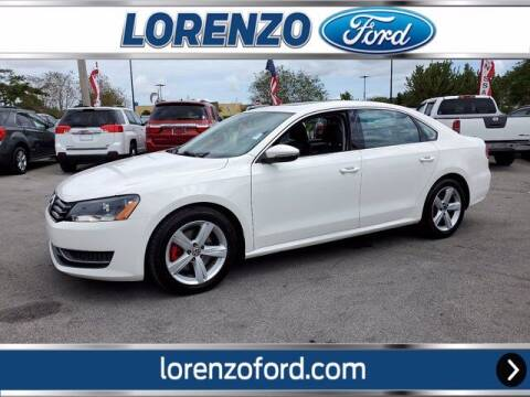 2012 Volkswagen Passat for sale at Lorenzo Ford in Homestead FL