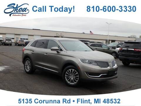 2016 Lincoln MKX for sale at Jamie Sells Cars 810 - Linden Location in Flint MI
