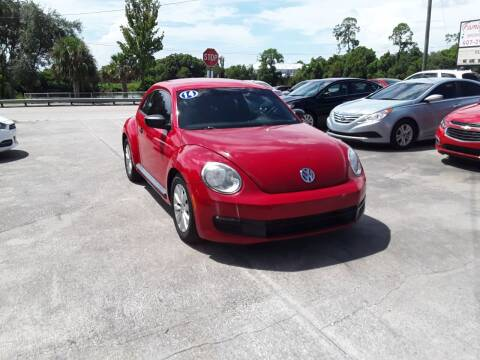 2014 Volkswagen Beetle for sale at FAMILY AUTO BROKERS in Longwood FL