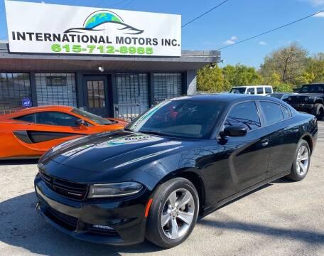 2018 Dodge Charger for sale at International Motors Inc. in Nashville TN