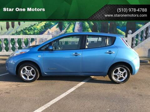 2012 Nissan LEAF for sale at Star One Motors in Hayward CA