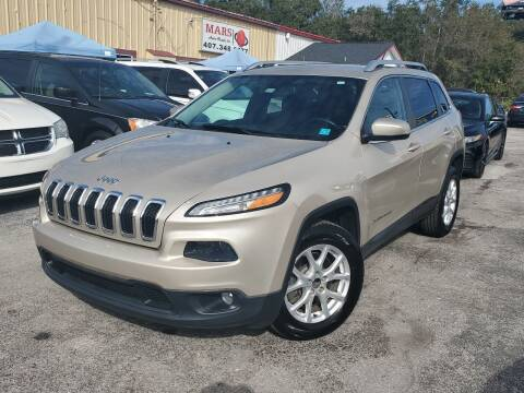 2015 Jeep Cherokee for sale at Mars auto trade llc in Kissimmee FL
